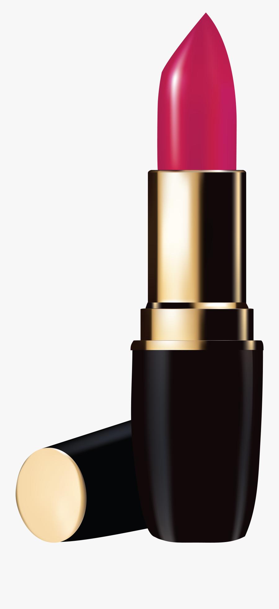 Lipstick Cosmetics Clip Art - Transparent Background Lipstick Png, Transparent Clipart