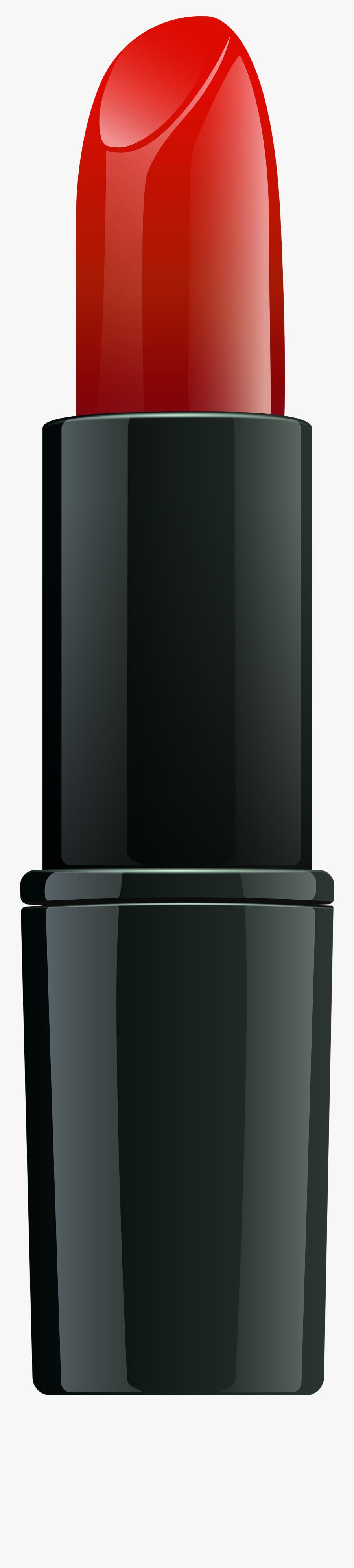 Lipstick Png Transparent Clip Art Image - Red Lipstick Transparent Background, Transparent Clipart