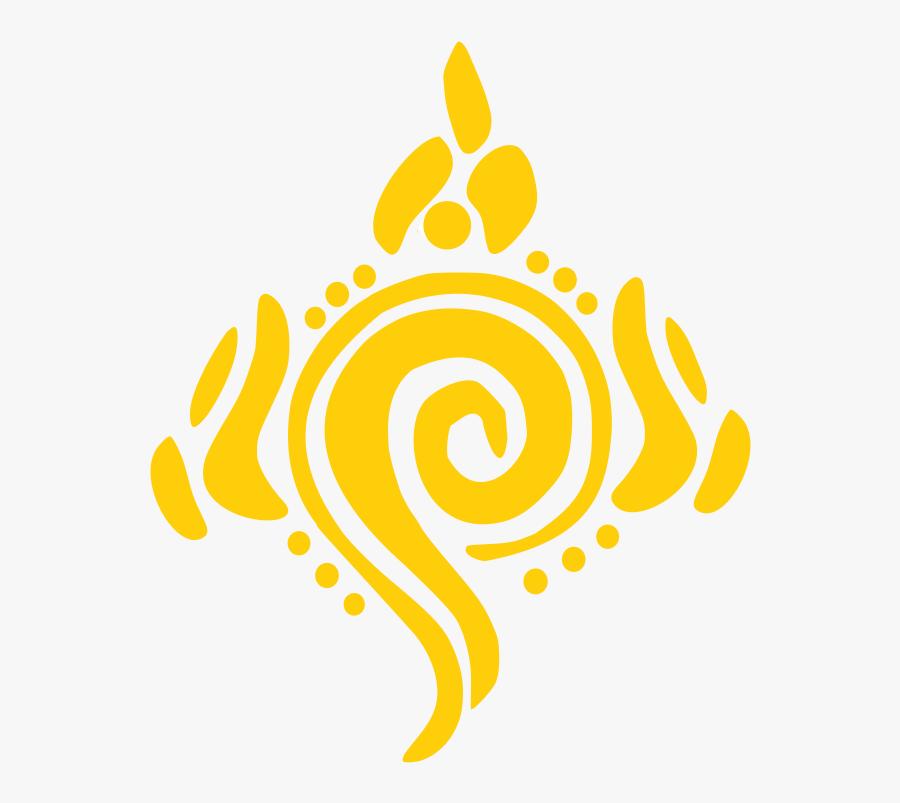 Vishnu Shankh Medium Image - Polka Dot Circle Monogram, Transparent Clipart