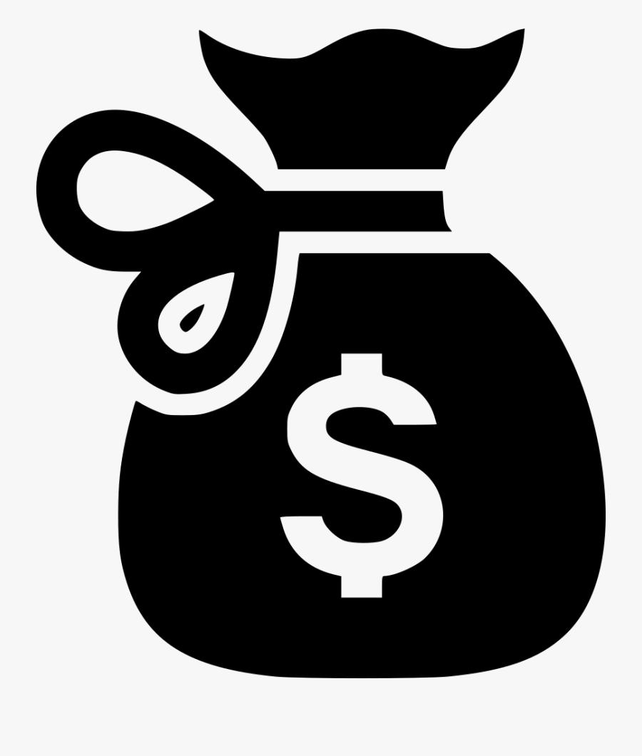 Svg Free Download - Money Bag Sign Png, Transparent Clipart