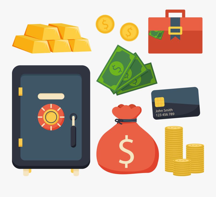 Transparent Bag Of Money Clipart - Petty Cash Png, Transparent Clipart