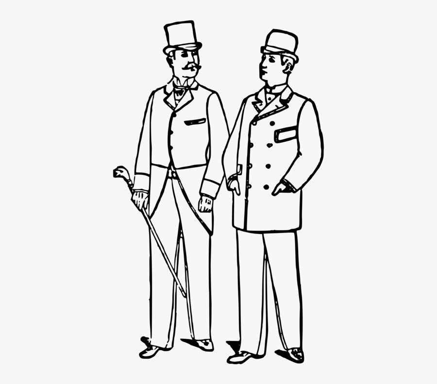 Art,shoe,human - Men With Suit Drawings, Transparent Clipart