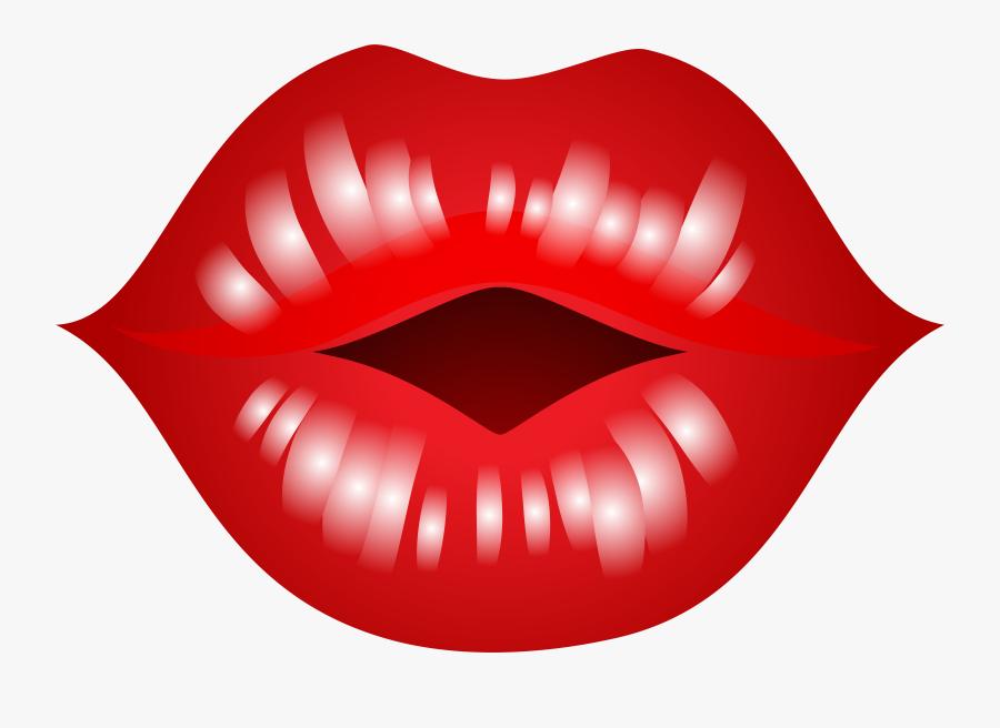 Pouty Lips Clipart Png - Kissing Lips Clipart, Transparent Clipart