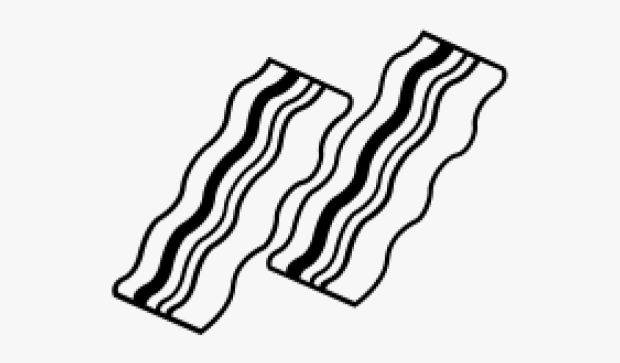 Bacon Black And White Clipart , Free Transparent Clipart ...