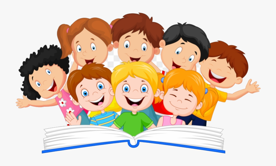 Reading Kids Clipart Children Transparent Png - Kids ...