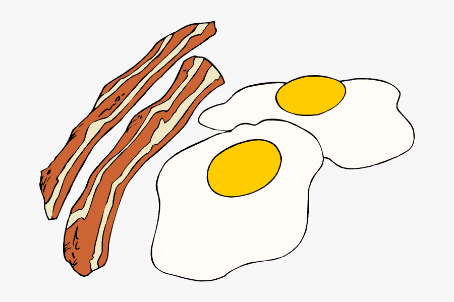 Bacon Day A Particularly Specific Gift-giving Occasion - Eggs And Bacon Clipart, Transparent Clipart