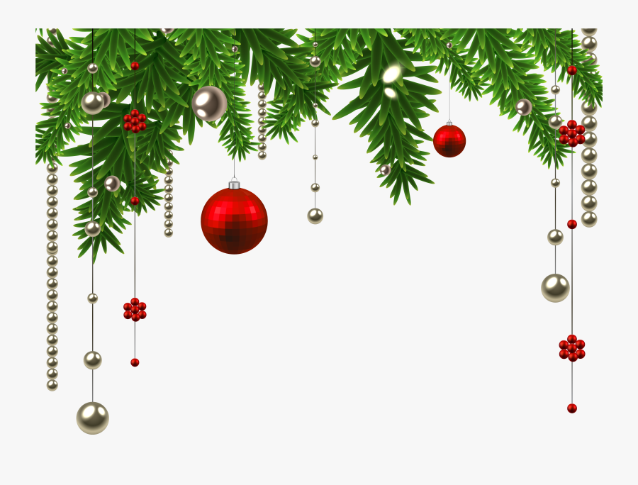 Svg Freeuse Library Collection Of Christmas Decorations - Christmas Decor Png Transparent, Transparent Clipart