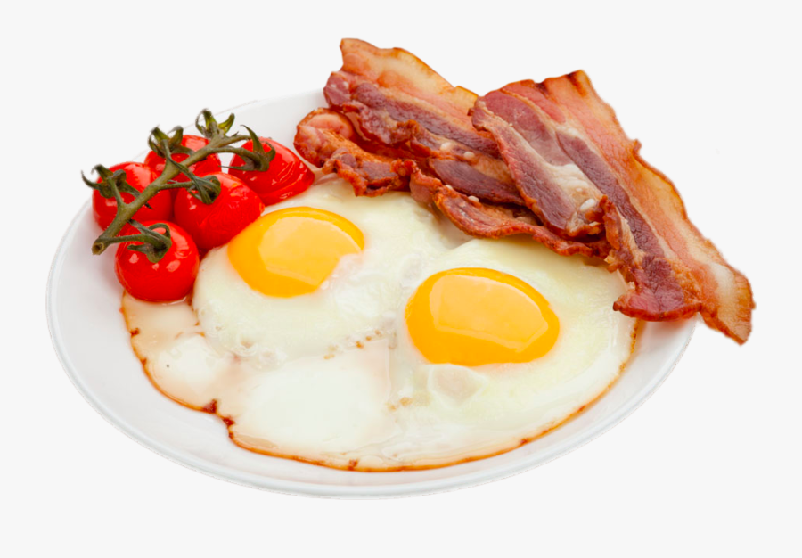 Transparent Cracked Egg Png - Bacon And Eggs Png, Transparent Clipart