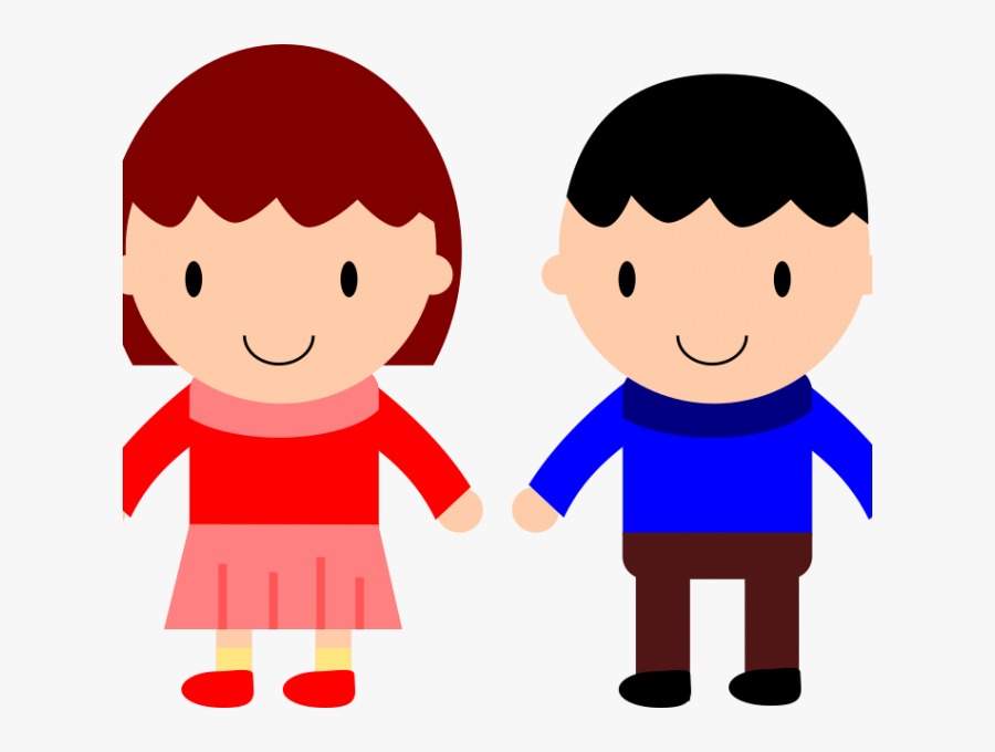 Little Boy And Girl Clipart At Getdrawings - Boy And Girl Png, Transparent Clipart