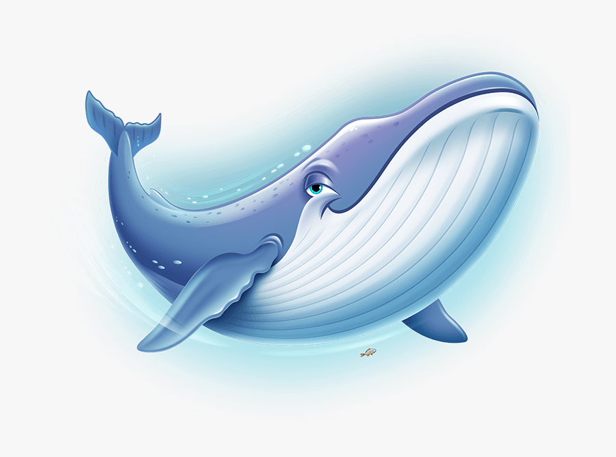 Ocean Commotion Vbs Clip Art - Blue Whale For Kids, Transparent Clipart