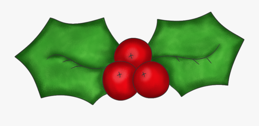 Christmas Holly Clip Art Best Christmas Moment - Transparent Festive Background Holly, Transparent Clipart