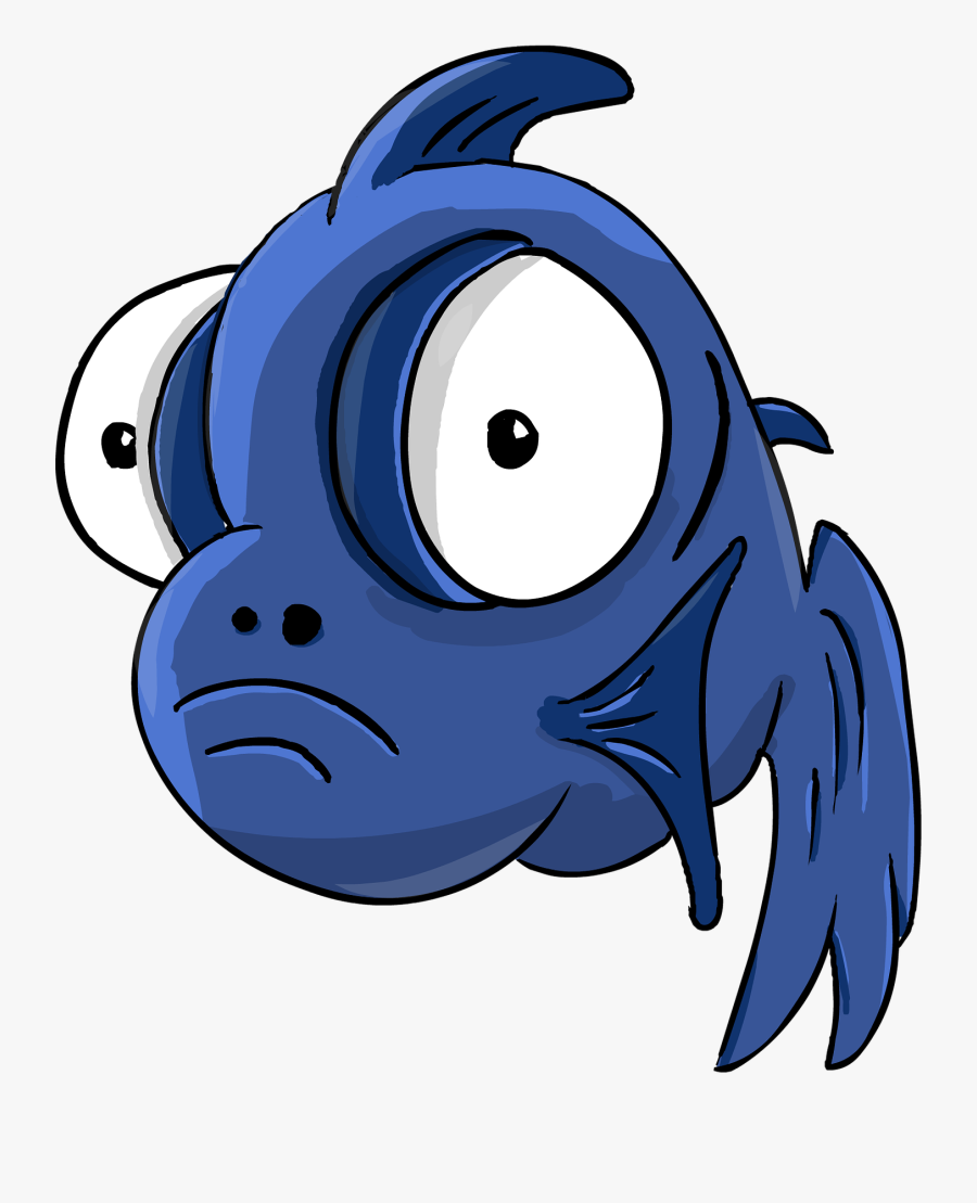 Finding Nemo Animation Underwater Sea Ocean Tropical - Cartoon Fish With Big Eyes, Transparent Clipart