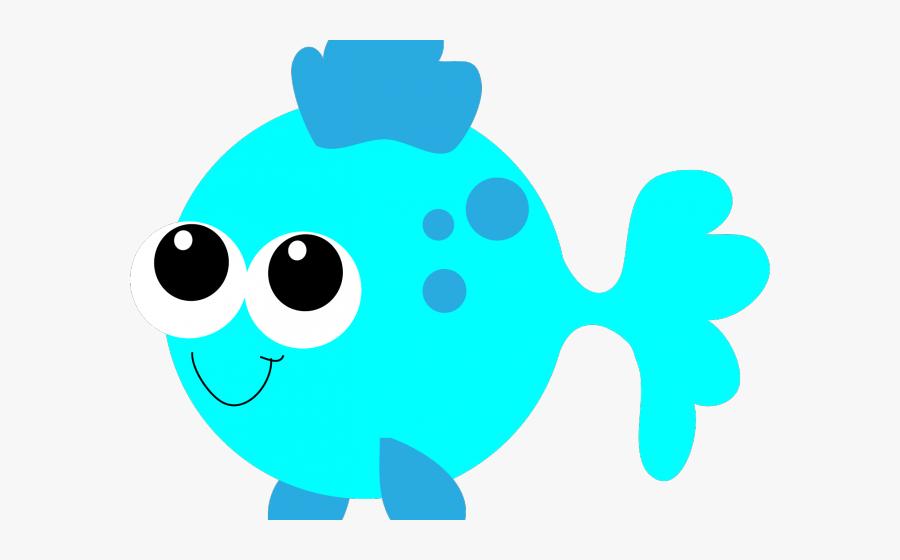 Transparent Ocean Clip Art - Cute Fish Clipart Png, Transparent Clipart