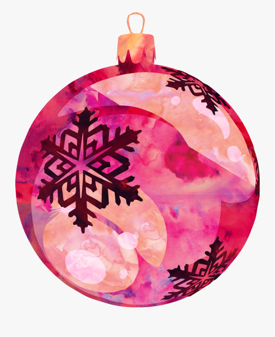 #freetoedit #ftestickers #watercolor #christmas #ornament - Christmas Ornament, Transparent Clipart