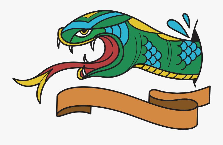 Clipart Snake Venomous Snake - Tattoo Old School Vector, Transparent Clipart