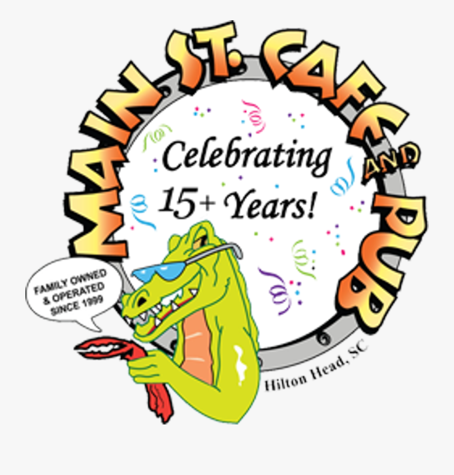 Family & Friends Sponsors - Main Street Cafe And Pub, Transparent Clipart