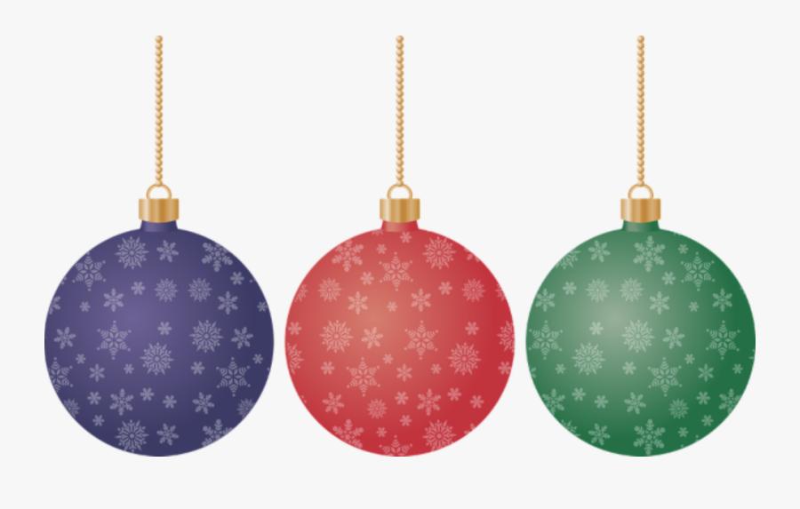 Christmas Ornament Clipart Transparent Background - Christmas Balls Vector Png, Transparent Clipart