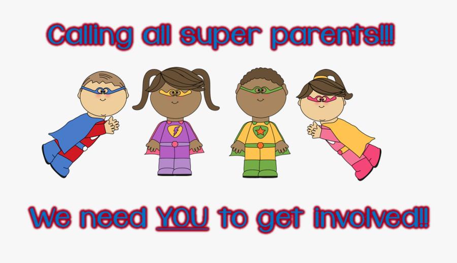 J W Faulk Elementary - We Need You Parents, Transparent Clipart