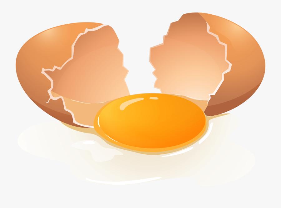 Broken Egg Png Clip Art - Transparent Background Egg Clip Art, Transparent Clipart