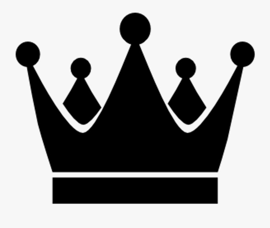 Transparent King Crown Clipart - King Crown Png Black, Transparent Clipart
