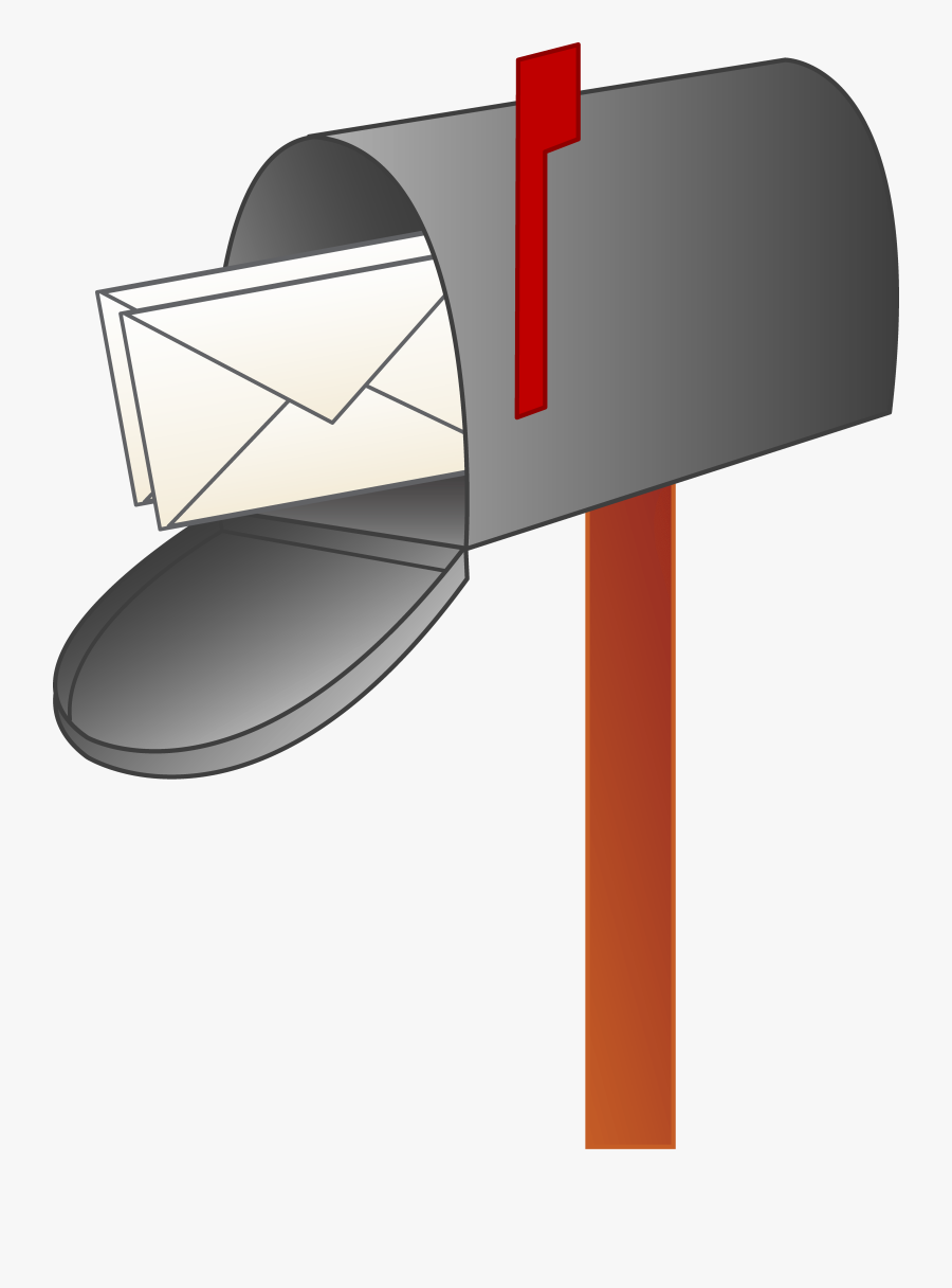 Mailbox Cartoon Mail Clipart - Clip Art Mailbox, Transparent Clipart