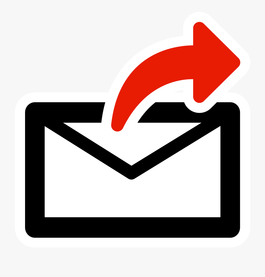 Transparent Mail Clipart Png - Send An Email Clipart, Transparent Clipart