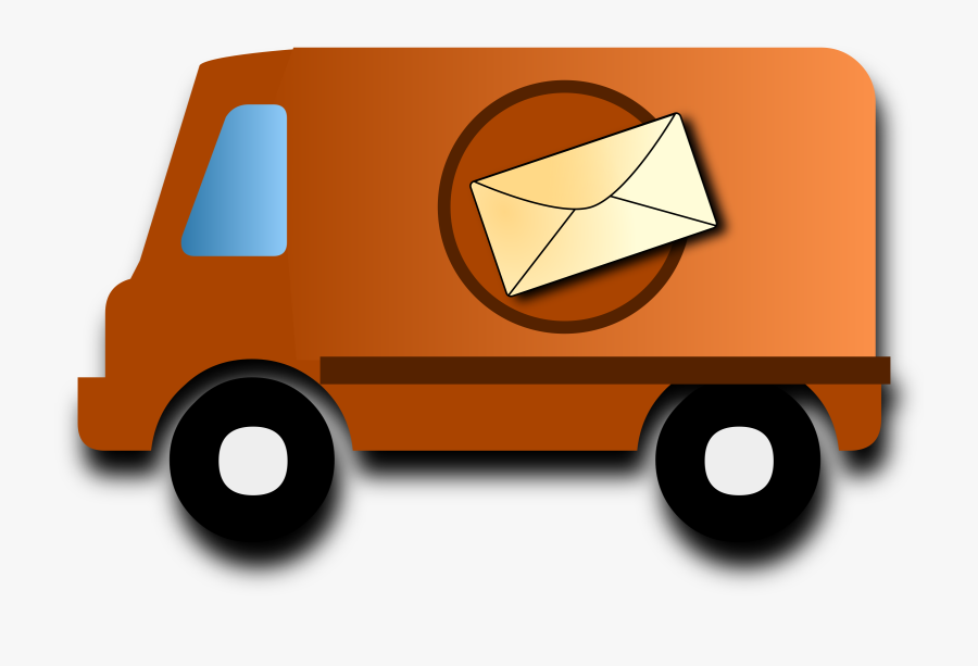 Mail Truck Clipart At Getdrawings - Mail Van Clipart, Transparent Clipart