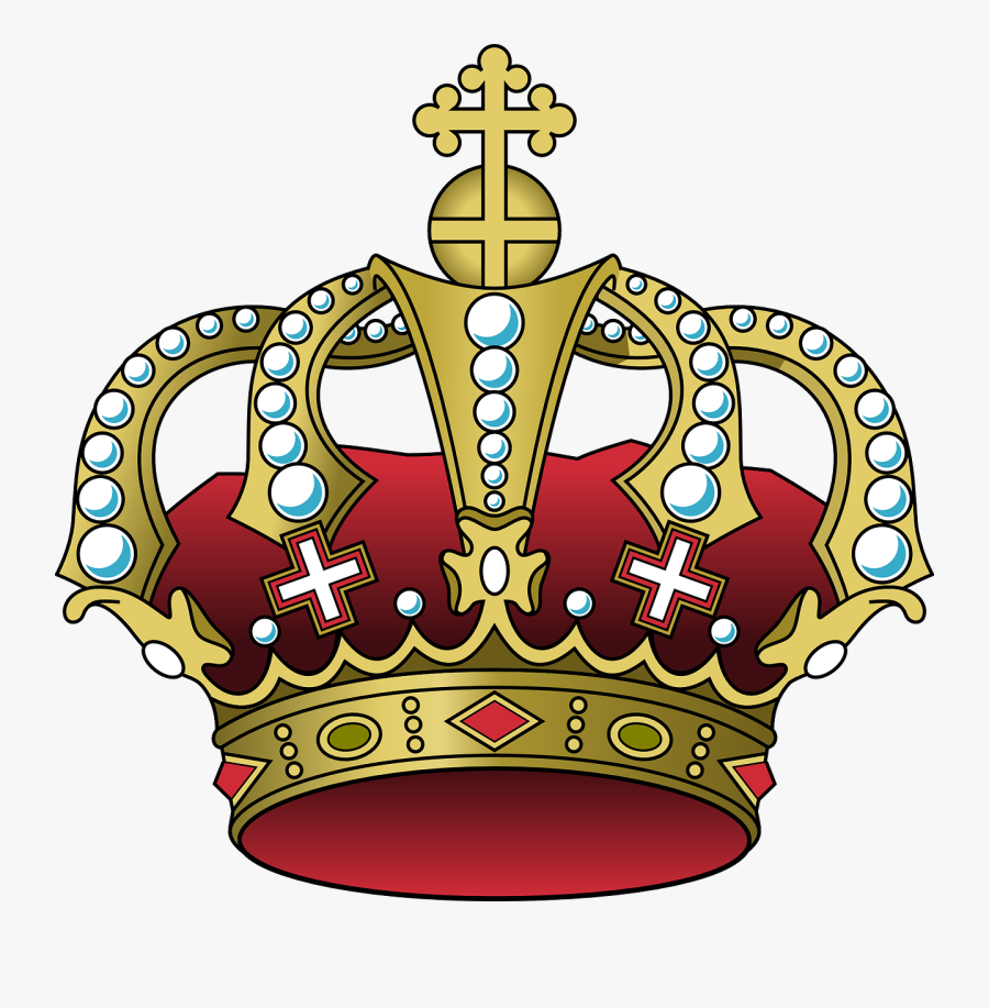 Crown Clipart King - Purple And Gold Crown Png, Transparent Clipart