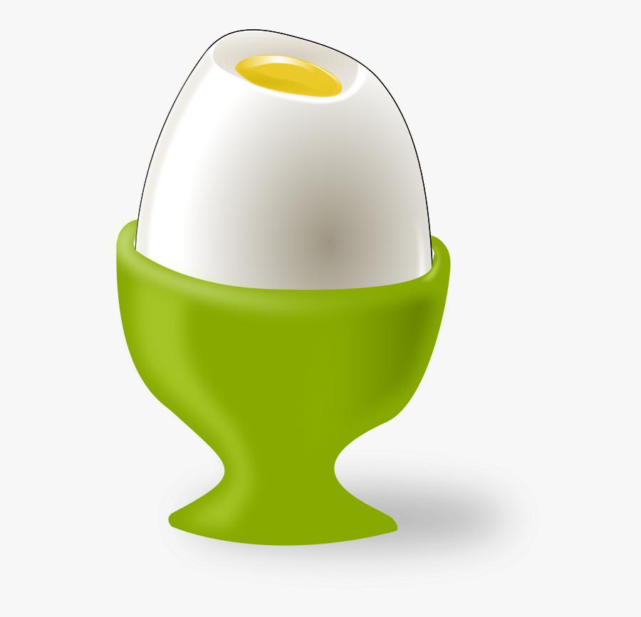 Ester Egg - Soft Boiled Egg Cartoon, Transparent Clipart