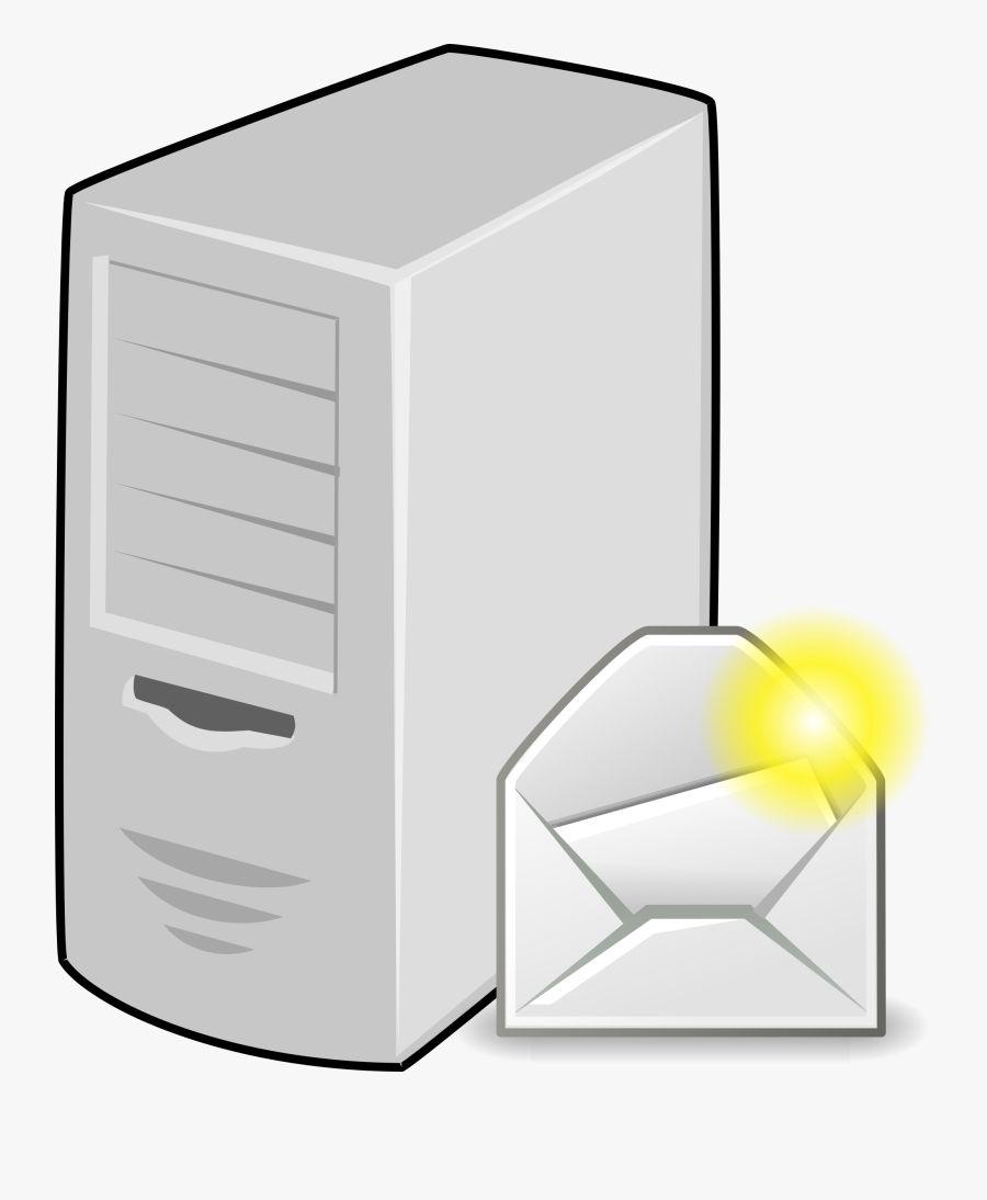 Servers - Mail Server Icon Png, Transparent Clipart