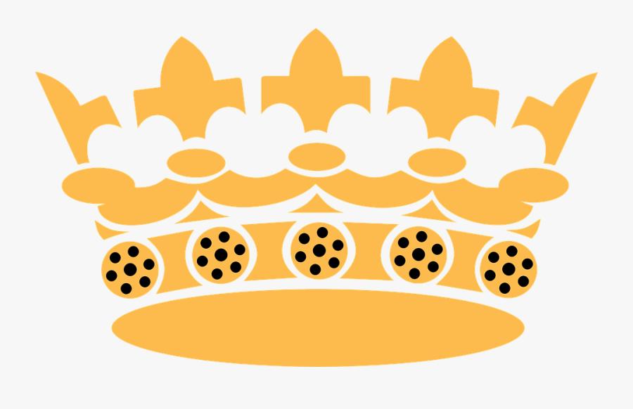 Crown, Royal, Rule, Regal, Gold, Power - Golden Crown Vector Png, Transparent Clipart