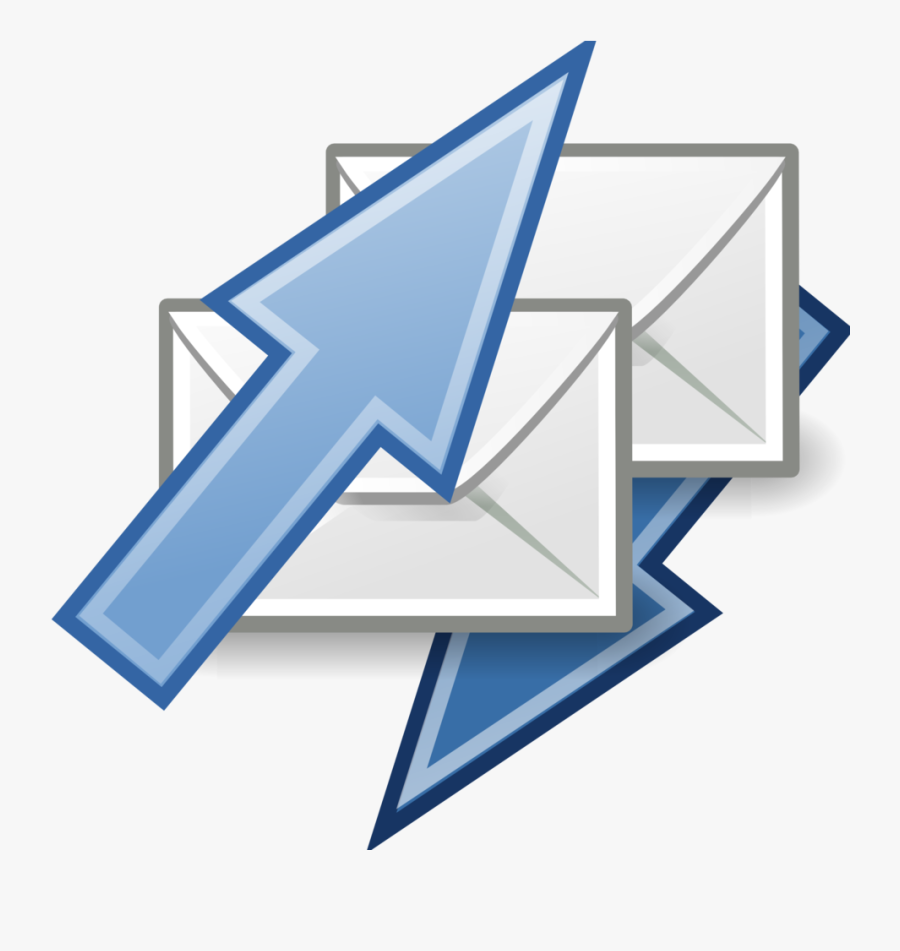 Tango Mail Send Receive - Send And Receive Emails, Transparent Clipart