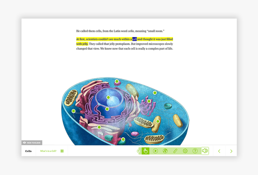 Image Of The Read Aloud Feature In Action On The Topic, Transparent Clipart