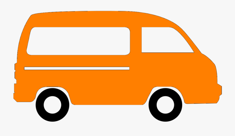 Passenger Van Van Icon Clipart , Png Download - Passenger Van Van Clipart Png, Transparent Clipart