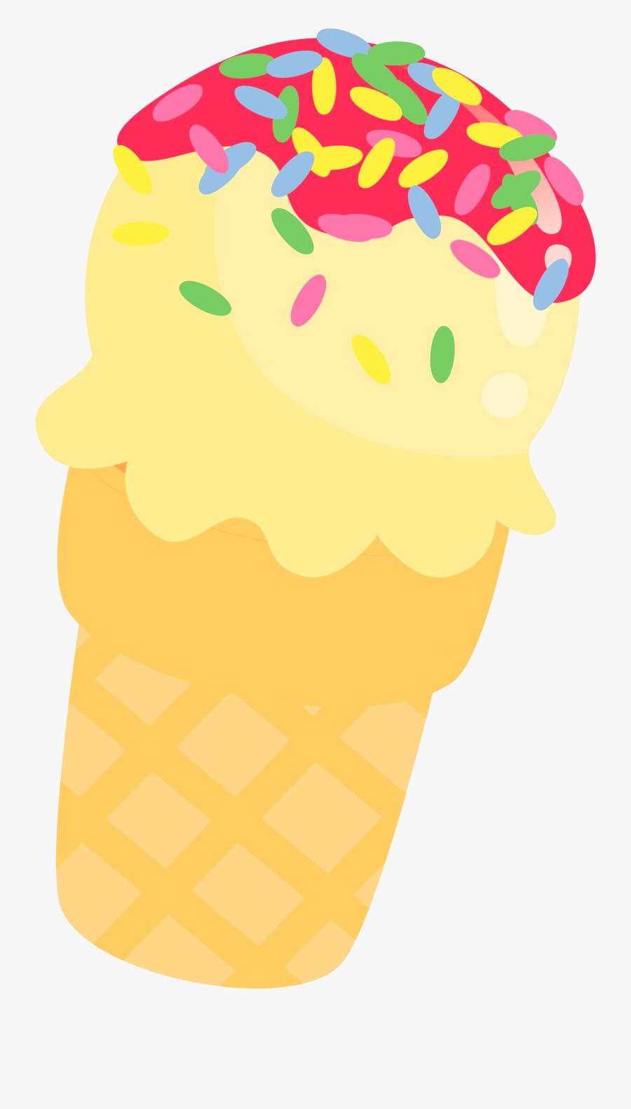 Ice Cream Clipart Ice Cream Cone Clip Art- - Ice Cream Clipart Cute, Transparent Clipart