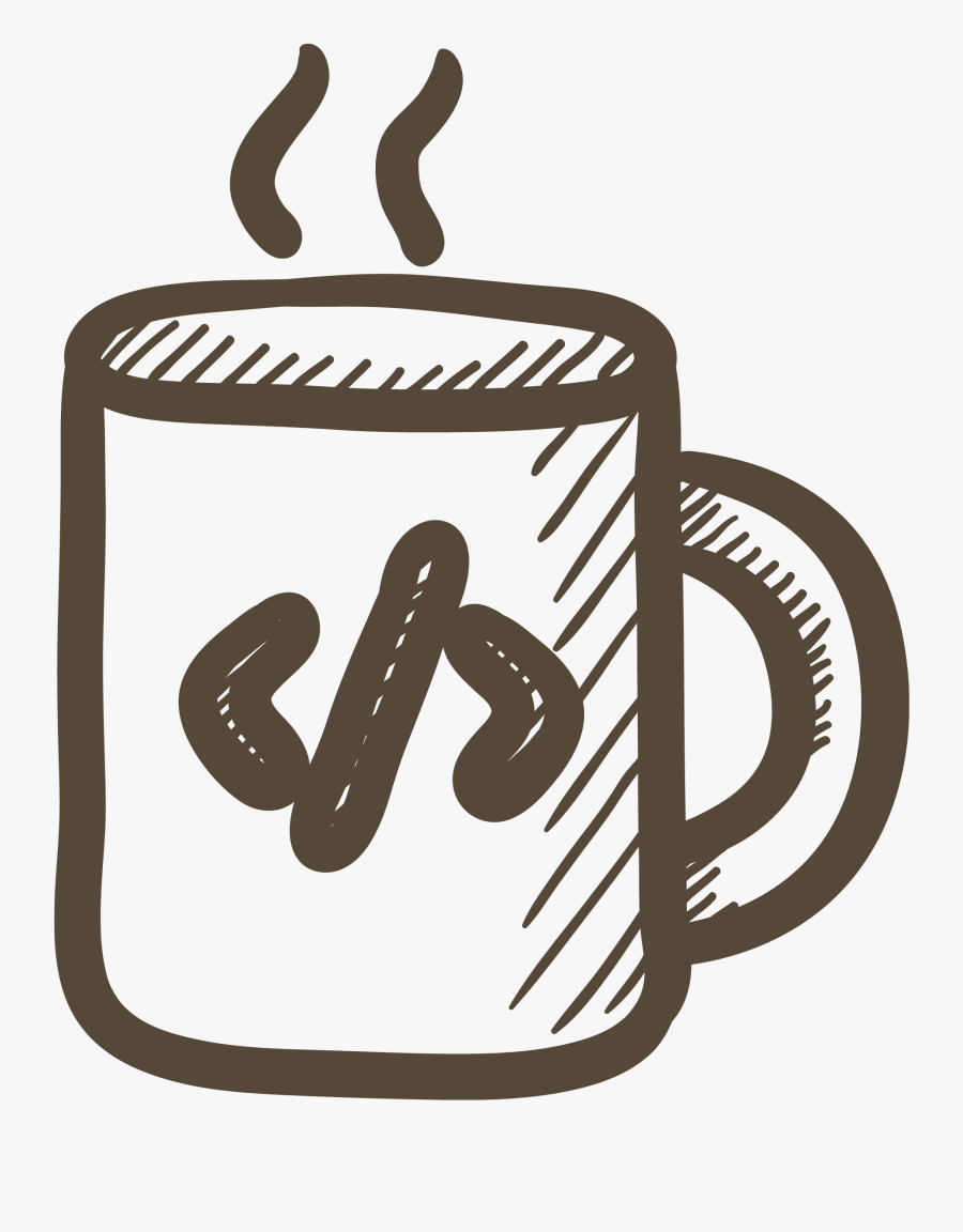 Study Clipart Library Research - Coffee Code Png, Transparent Clipart