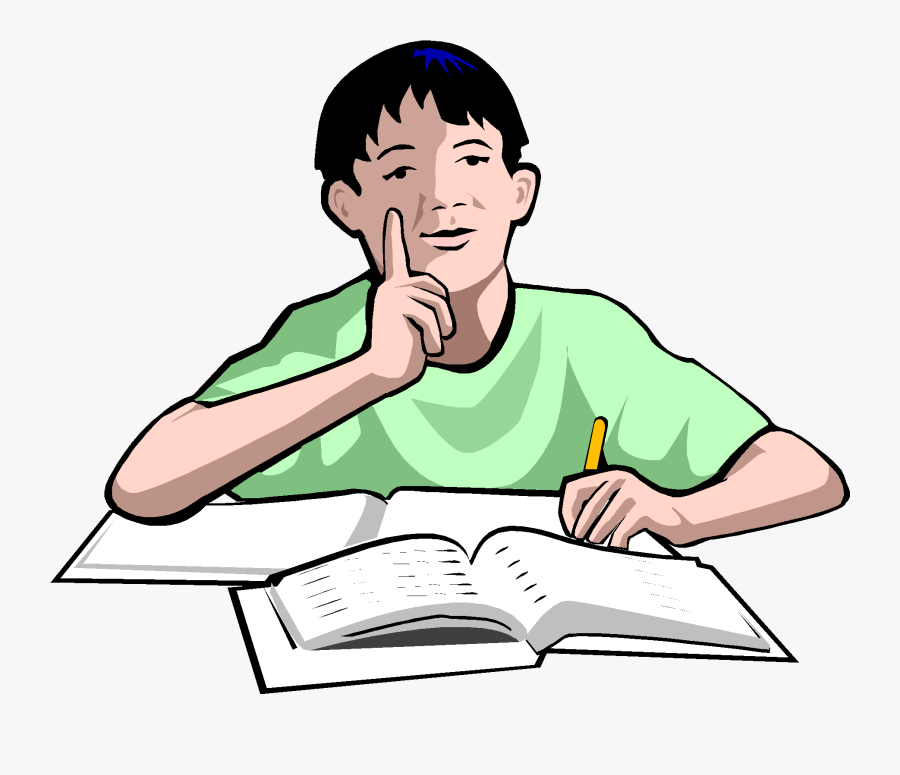 Plagiarism Copy1 On Emaze - Studying Student Clipart Png, Transparent Clipart