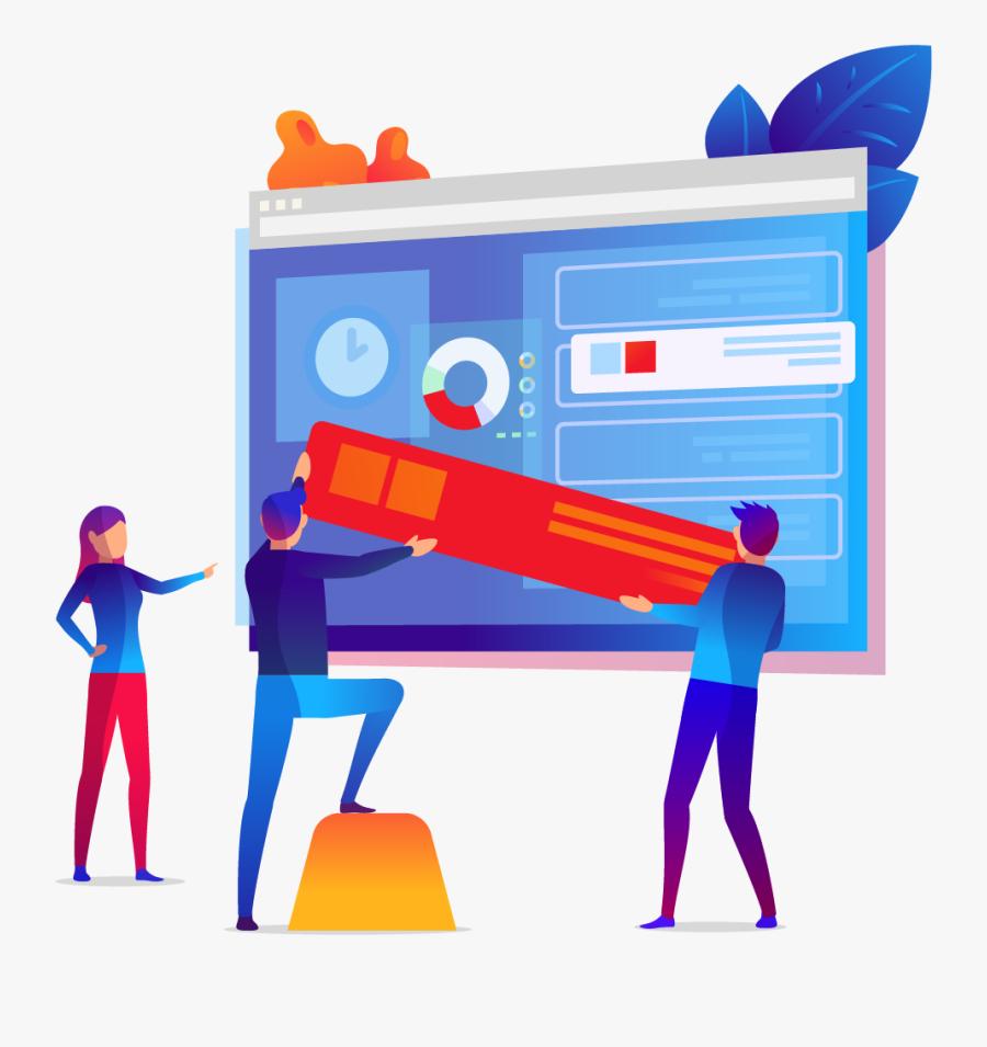 Web Design Clipart , Png Download - Graphic Design Ecommerce Website, Transparent Clipart
