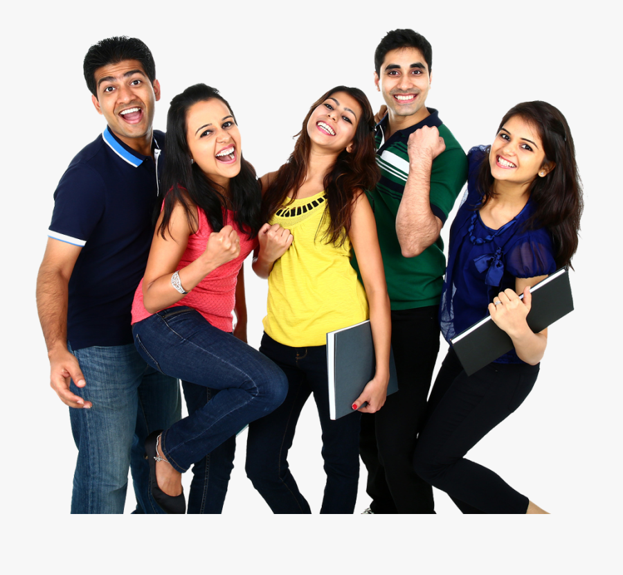 Study Clipart College Indian Students - Indian Students, Transparent Clipart