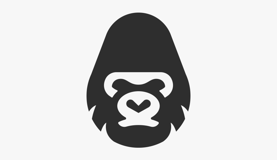 The Logo Shop - Gorilla Logo Png, Transparent Clipart