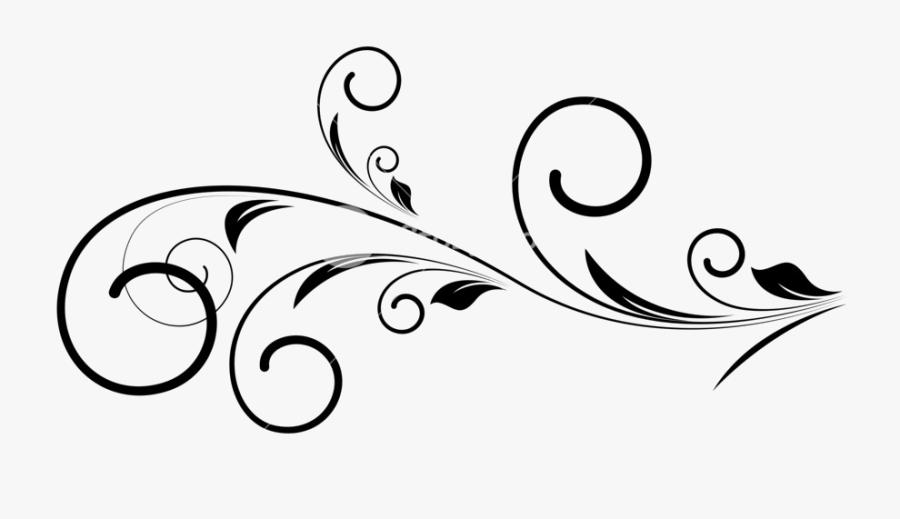 Clip Art Collection Of Free Transparent - Transparent Swirl Design Png, Transparent Clipart