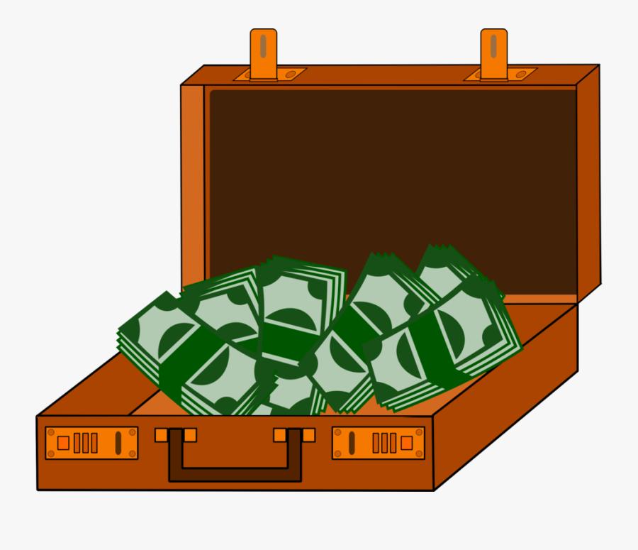 Cash Money Grass Transparent Image Clipart Free Png - Suitcase With Money Clipart, Transparent Clipart