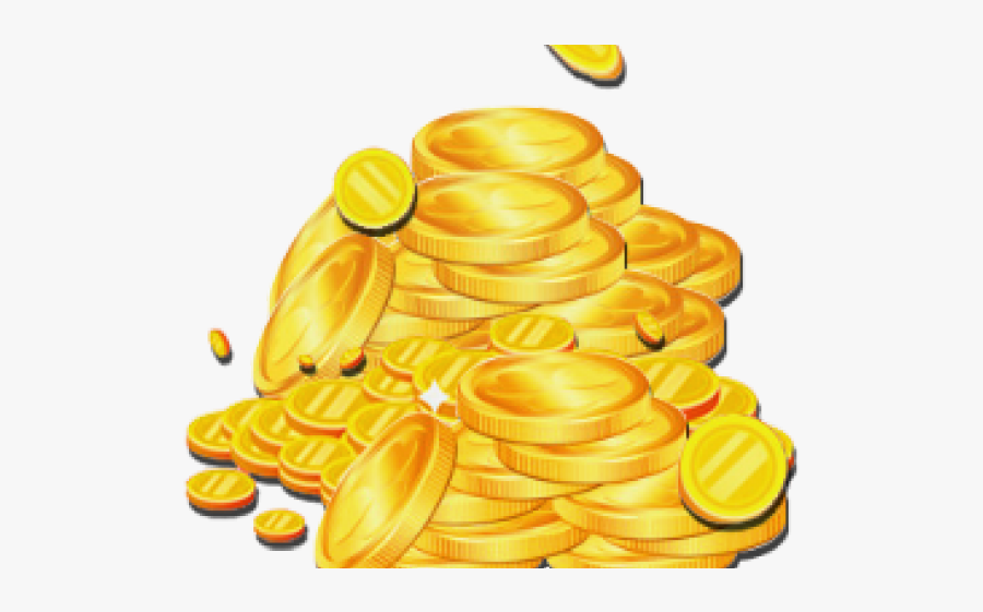 St Patrick's Day Gold Coins Png, Transparent Clipart