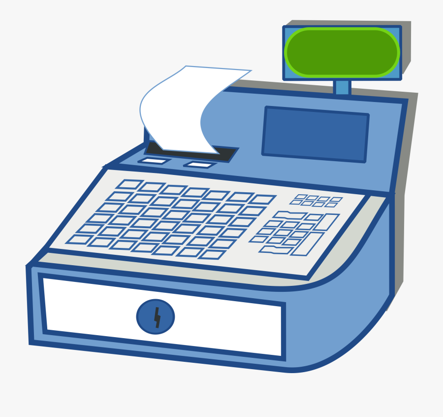 28 Collection Of Cash Register Clipart Png - Modern Cash Register Clipart, Transparent Clipart