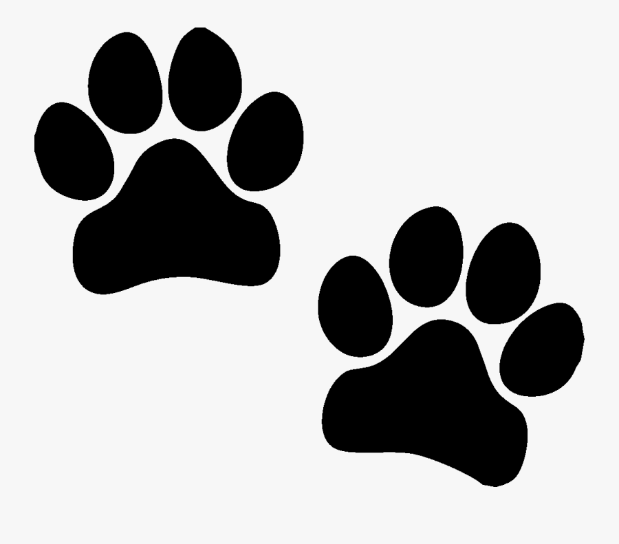 Dog Paws Yellow , Free Transparent