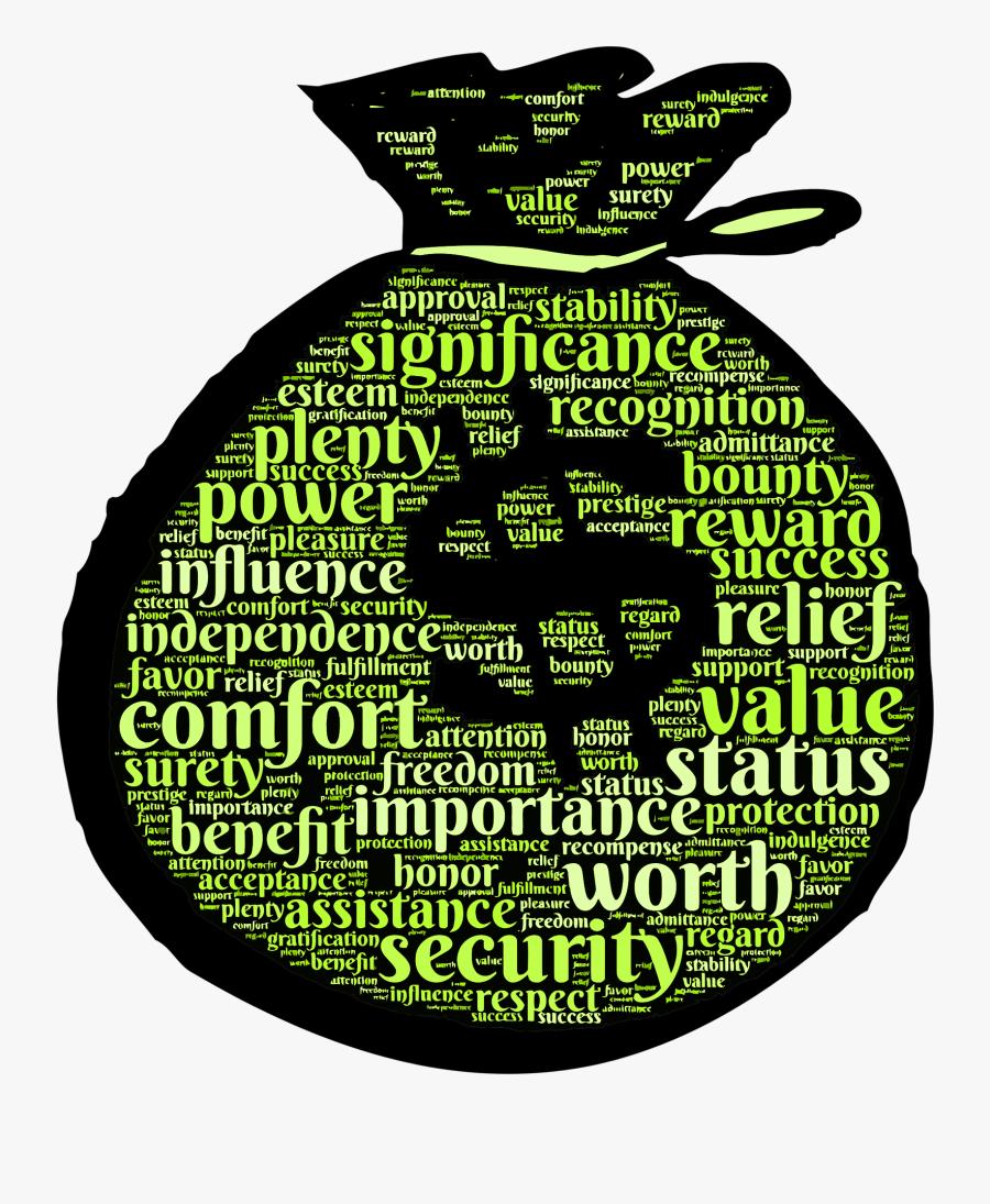Money Bag Clip Art, Transparent Clipart