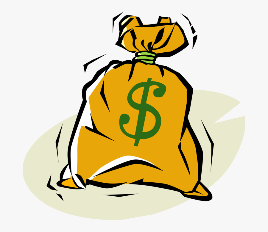 Moneybag Sack Of Money - Money Clipart, Transparent Clipart