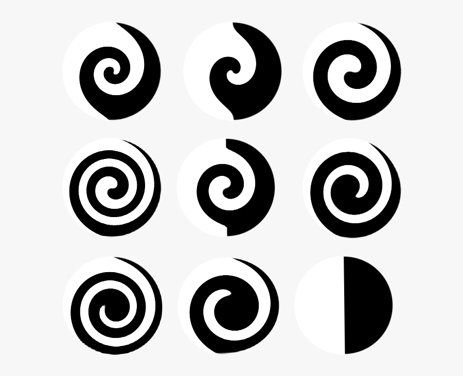 180 Design Swirls By Tigers-stock On Clipart Library - Circle Swirl Silhouette, Transparent Clipart