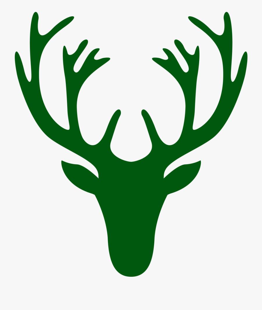 Simple Deer Drawing Head Clipart , Png Download - Deer Head Drawing Easy, Transparent Clipart