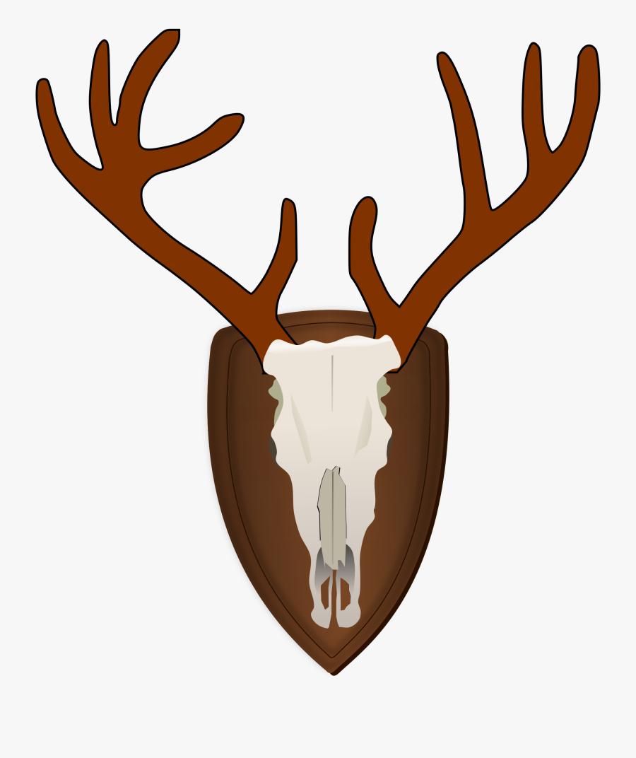 Elk,head,deer - Clipart Hunter Png, Transparent Clipart